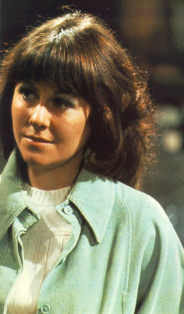 Aaw! Too cute, both of them. Sarah Jane Smith and K9. Rest among the stars with your K9 Sarah
