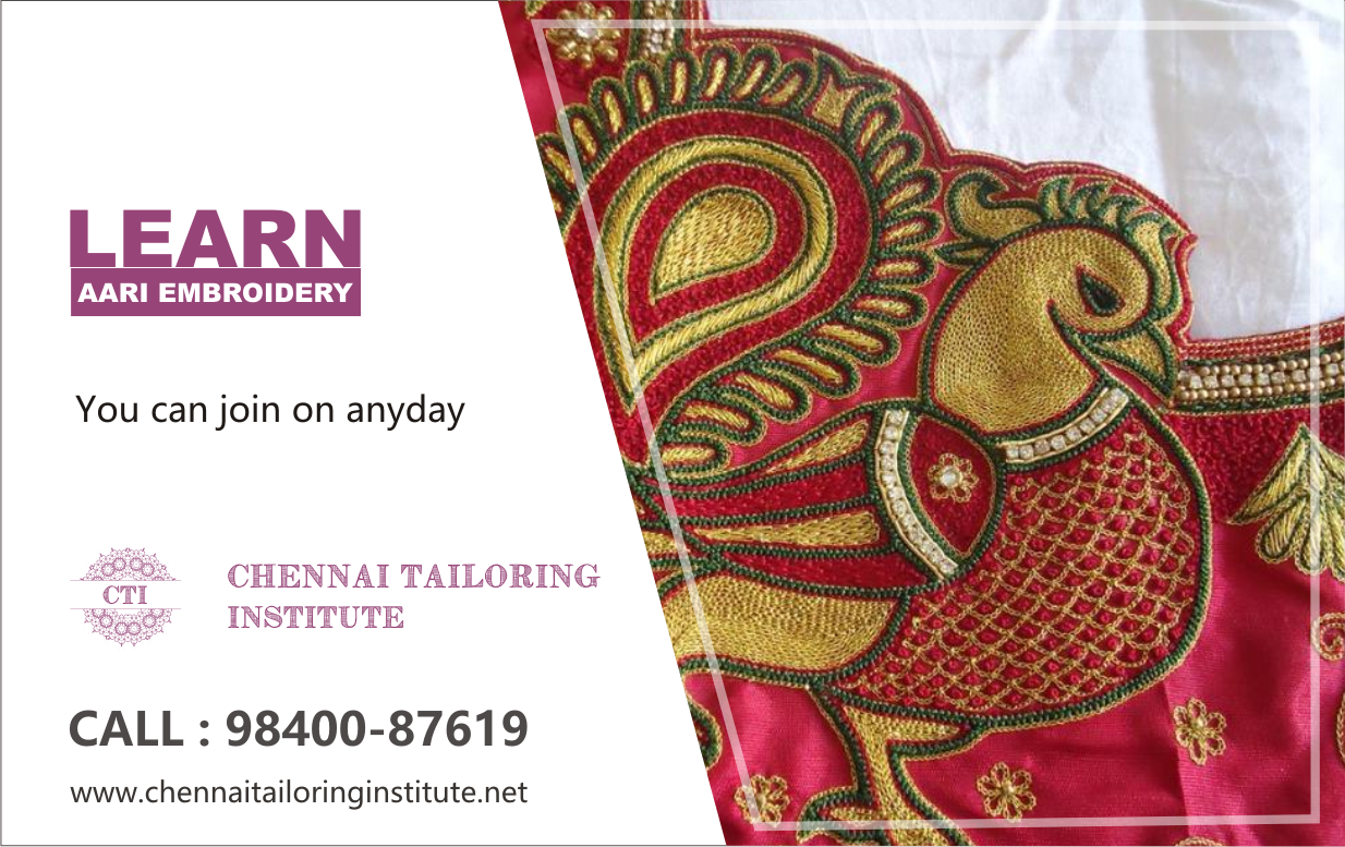 Aari Embroidery Classes In Chromepet