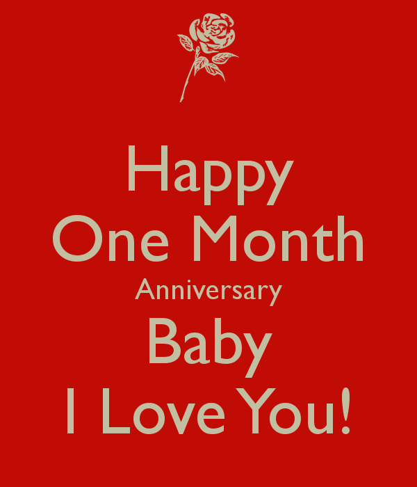 happy one month anniversary letter 1 month anniversary quotes for boyfriend quotesgram 22088
