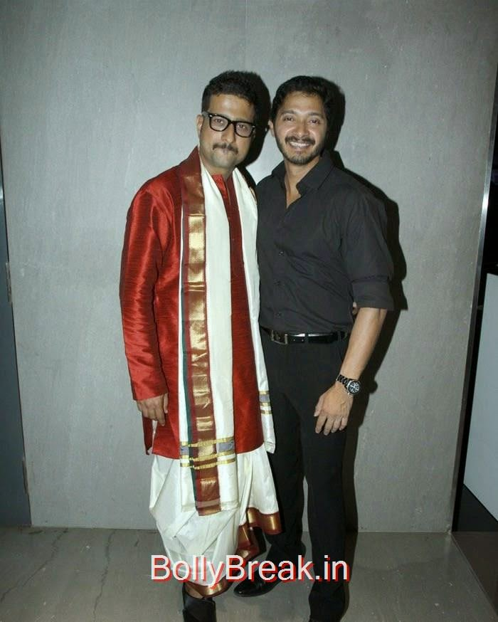 Jitendra Joshi, Shreyas Talpade, Pics from 'Baji' Marathi Movie Premier Photo Gallery