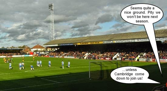 Abbey Stadium Cambridge