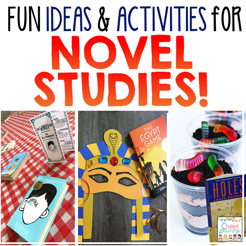 fun giveaway ideas studentsavvy fun ideas and activities for novel studies 7803