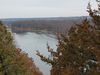 View of Plum Island from just next to Starved Rock