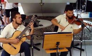 Apresentação violina e viola