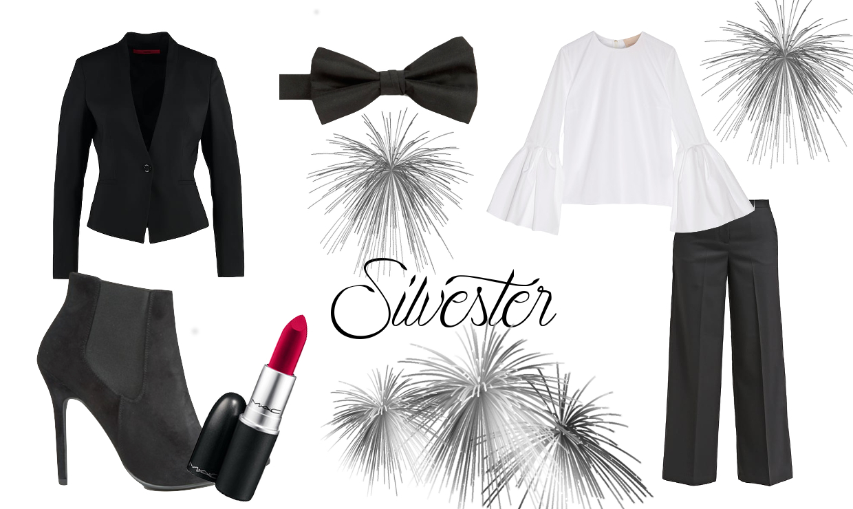 Silvester Outfit fünf Inspirations Looks