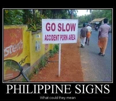 Funny Signages You May Encounter