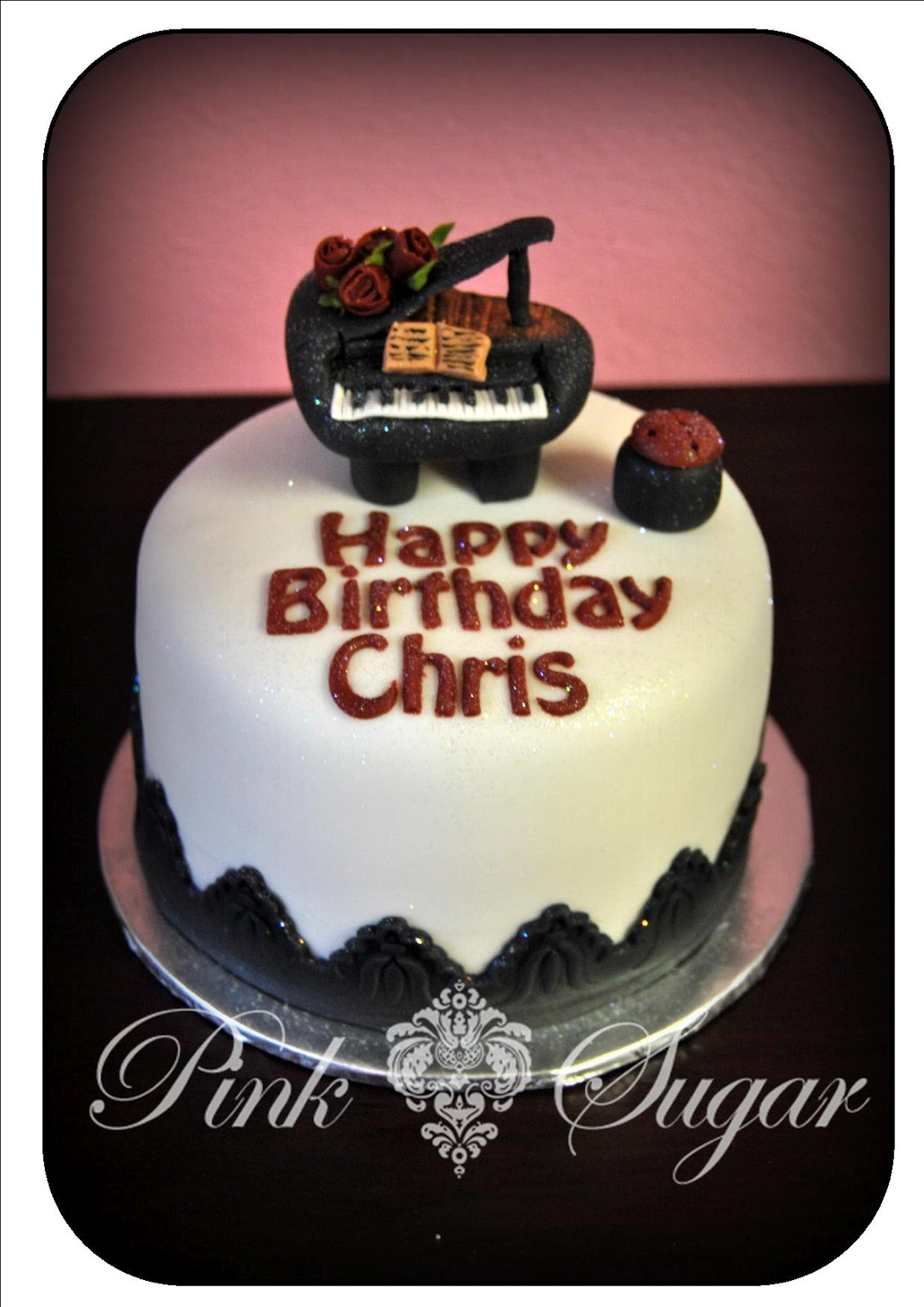 Cake Happy Birthday Chris Cake Pics