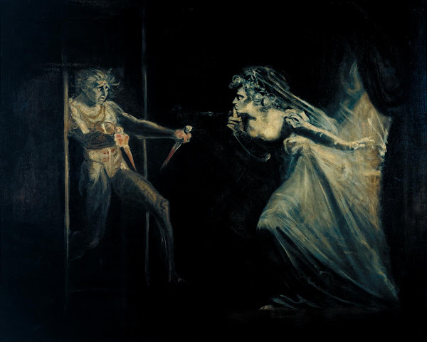 Lady Macbeth Seizing the Daggers by John Henry Fuseli, Macabre Paintings, Horror Paintings, Freak Art, Freak, Paintings, Horror Picture, Terror Pictures