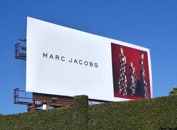 Marc Jacobs FW 2015 billboard