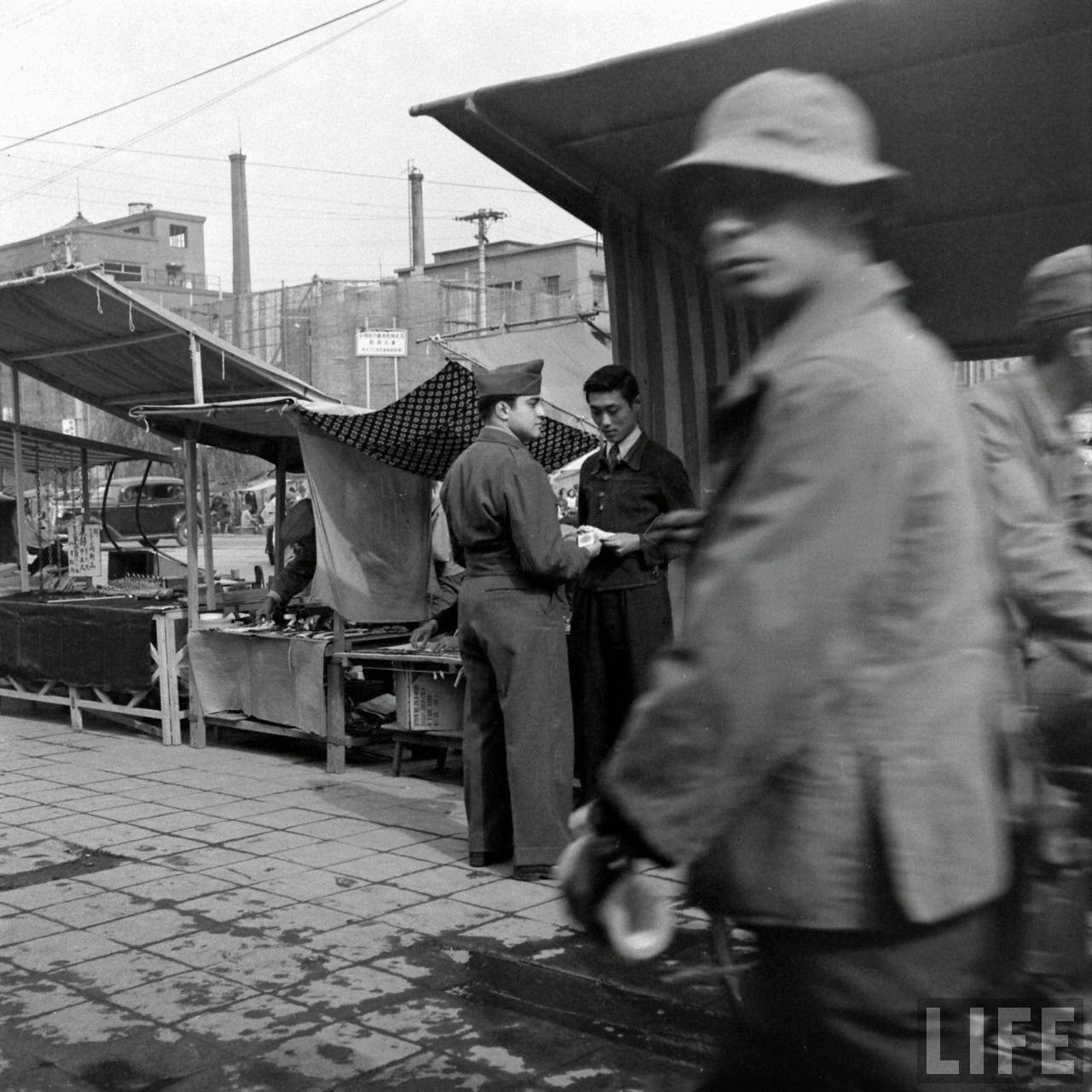 Pictures Of Black Market In Japan In 1946 Vintage Everyday