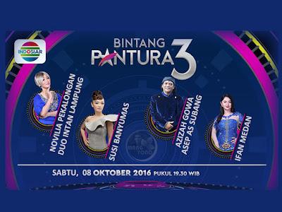 Siapakah Yang Turun Panggung Bintang Pantura 3 Babak 24 Besar Grup 2 Sabtu 8 Oktober 2016