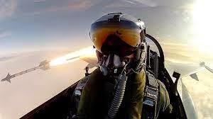 Piloto tomandose una selfie