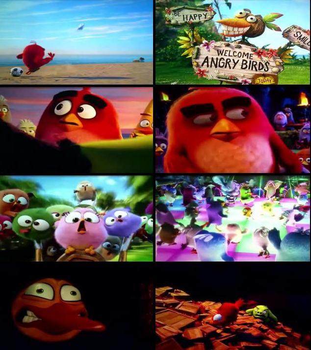 The Angry Birds Movie 2016 Dual Audio Hindi 720p HDTC