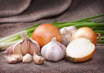 ajos y cebollas para bajar de peso, alimentos para bajar de peso