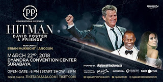 cari tiket event david foster and friends hitman di dyandra convention center surabaya