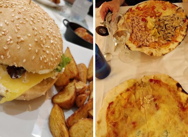 the green frog souvenirs du mois d'octobre 2018 zaragoza pizza la tagliatella restaurant vegan burger vegan frites vegan