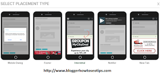 Revenuehits.com mobile ads format
