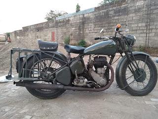 Dijual motor tua tua antik BSA M20
