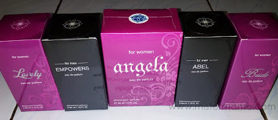 Ready Stock Parfum Pheromone bride abel angela lovely empowers