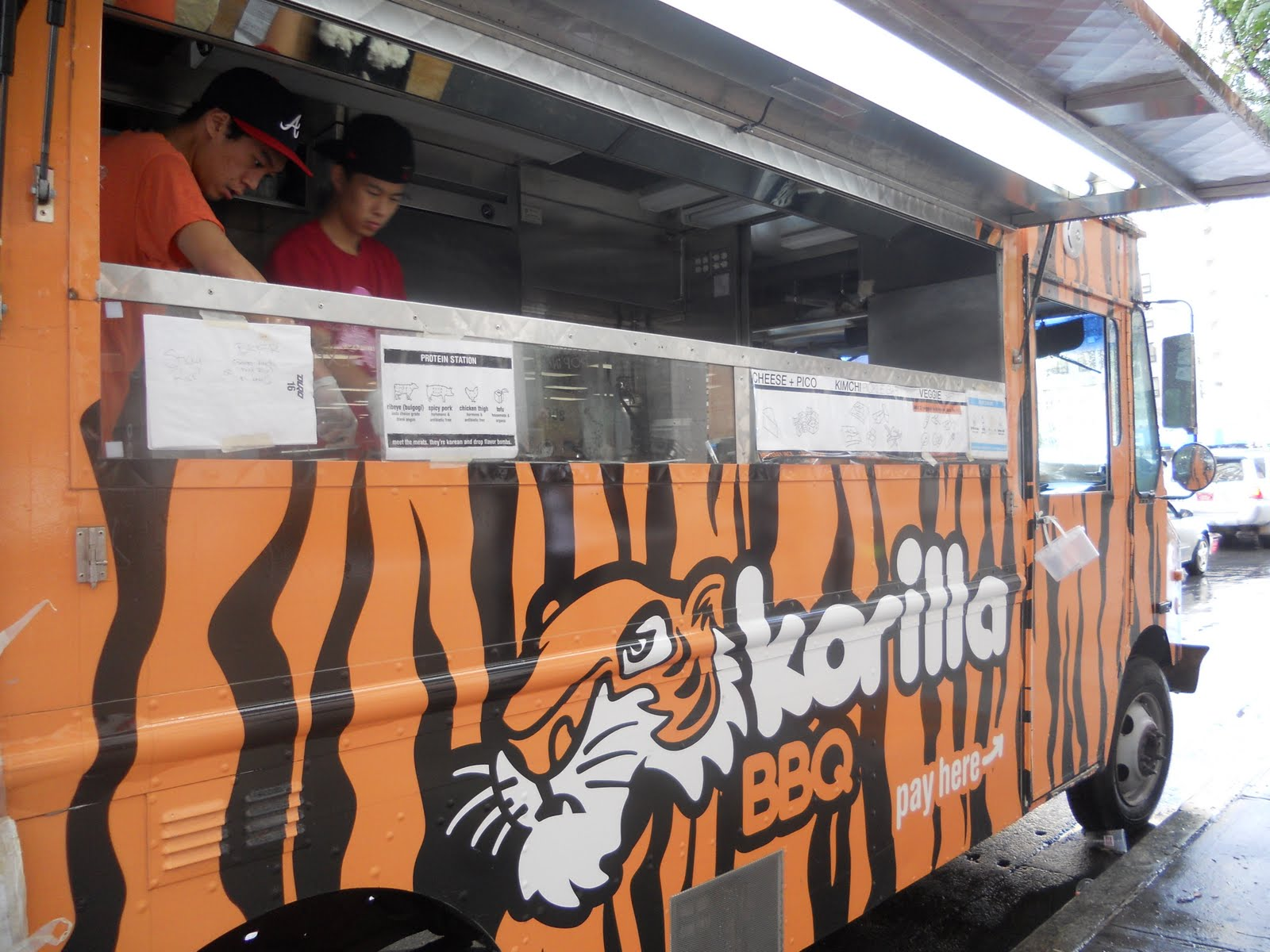 Korilla Food Truck Today