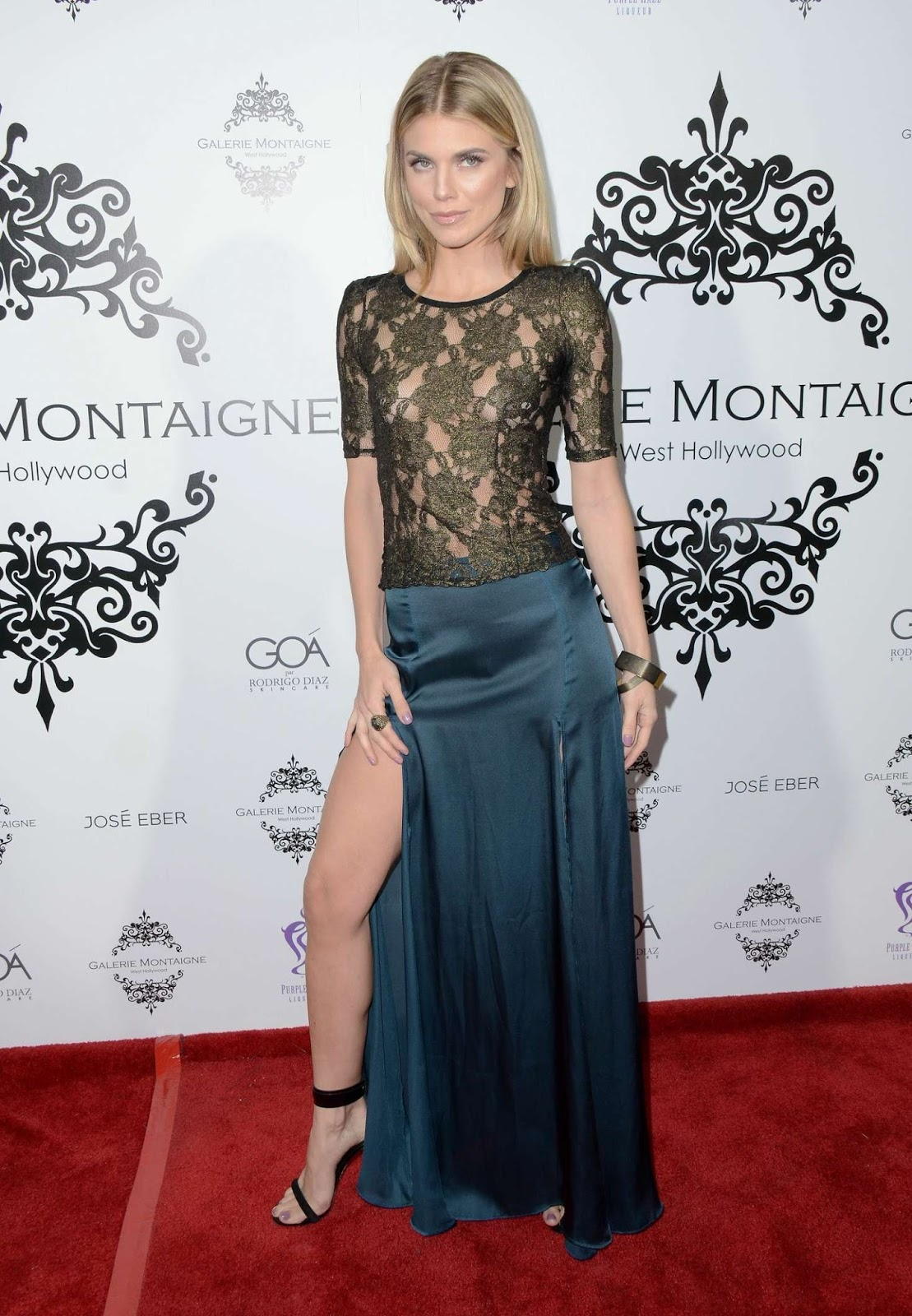 AnnaLynne McCord at Galerie Montaigne Opening - Photo AnnaLynne McCord 2016