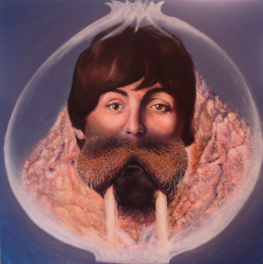 Beatles Song Glass Onion