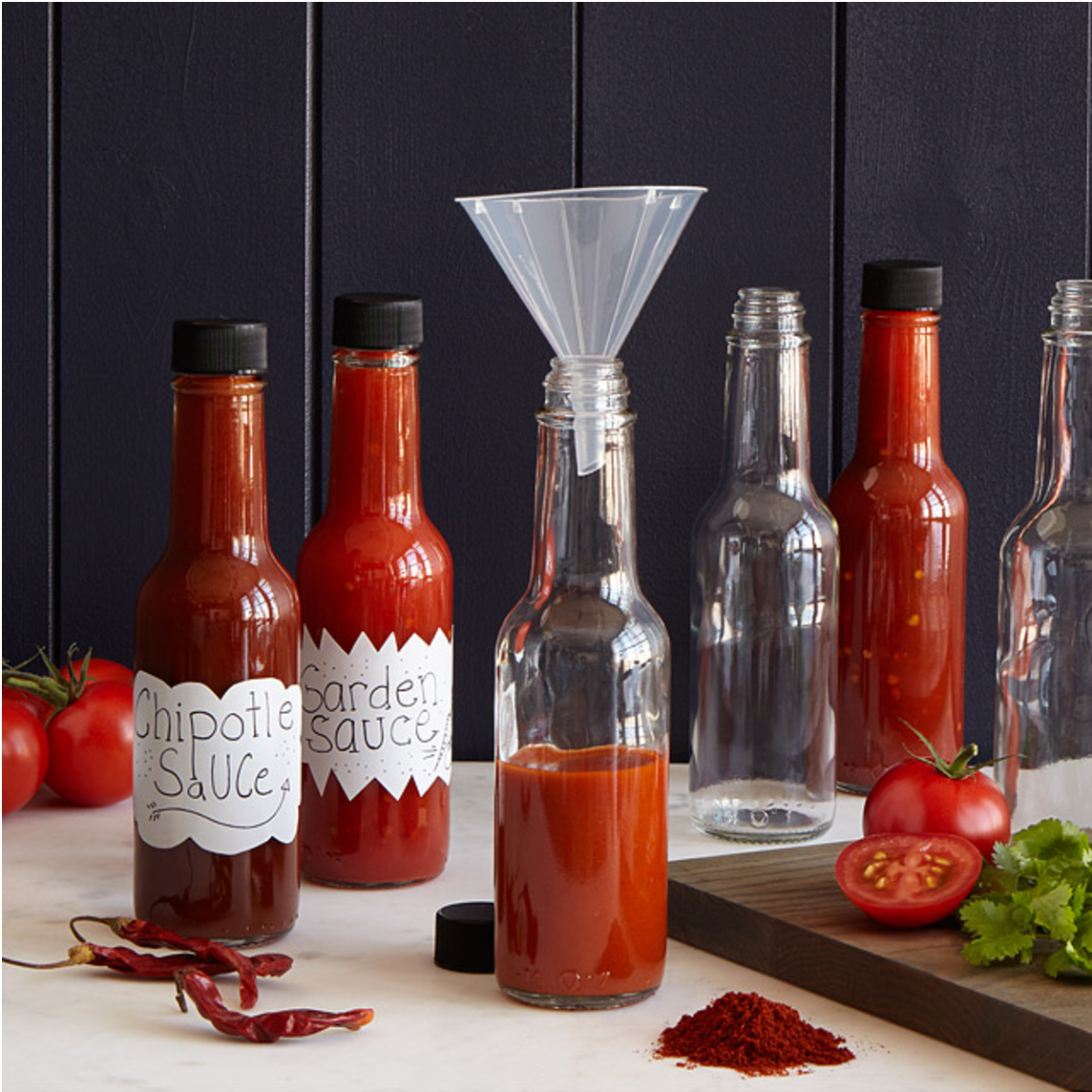 check out the hot sauce making kit here