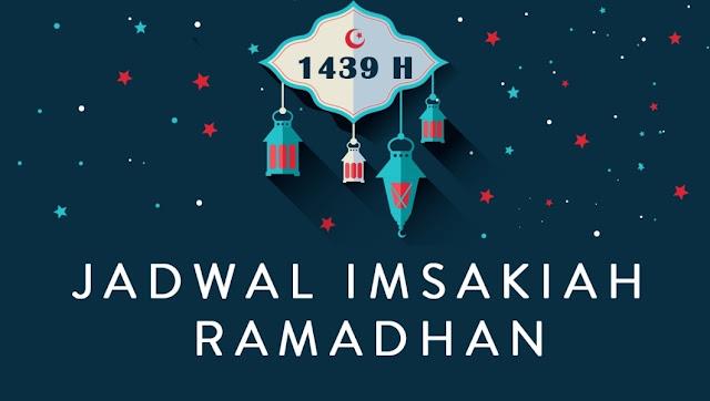 Jadwal Imsakiyah Ramadhan 1439/2018 Wilayah Mimika Papua Tengah