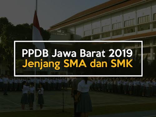 Info PPDB SMA dan SMK Jawa Barat 2019
