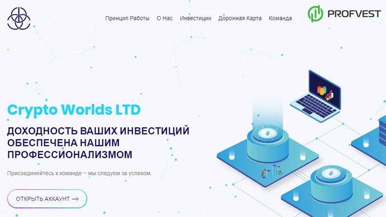 Crypto Worlds обзор и отзывы HYIP-проекта