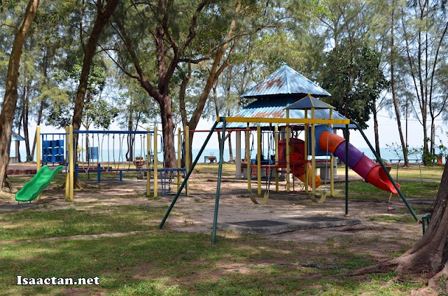 The recreational park where families could bring their children to play