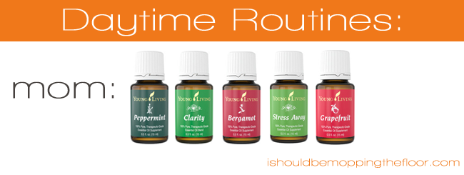 Our Daily Oil Routines using Young Living Essential Oils