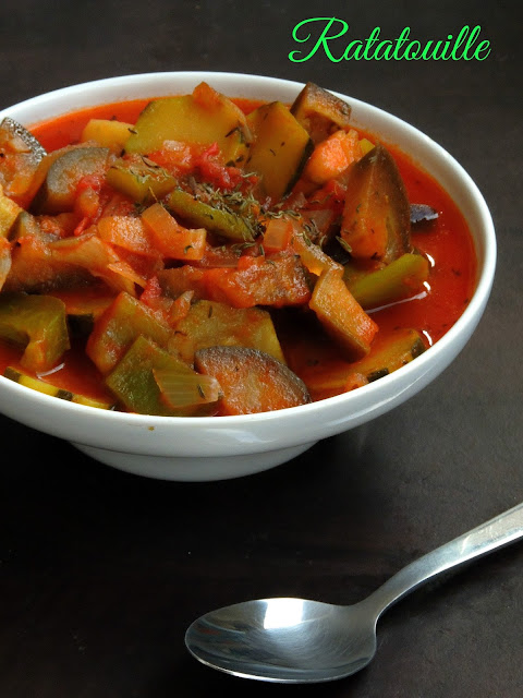 Ratatouille,French Provençal Vegetable Stew