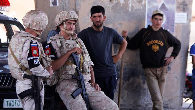 Siria: Militares rusos hallan un depósito de armas en la provincia de Homs