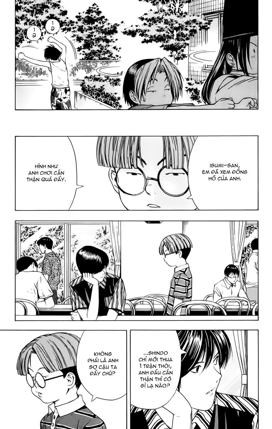 Hikaru No Go hikaru no go chap 81 trang 18