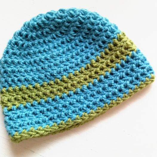 1fc60fd258924 Gorro Básico a Crochet - Ahuyama Crochet