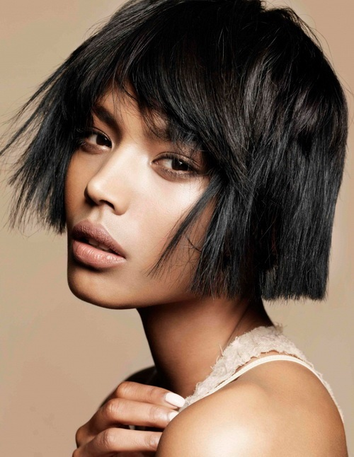 Peachy The Makeupc And Hairstyles Hairstyles For Black Women With Thin Hair Hairstyles For Women Draintrainus