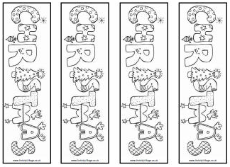 Coloring is such a classic pastime for kids and with good reason too! Librarianism Chronicles Free Holiday Bookmarks