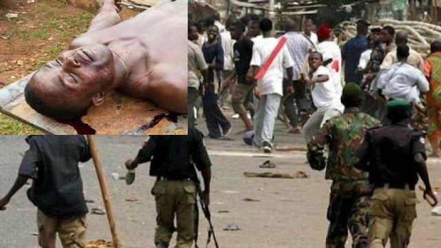 Soldiers Invaded IPOB Members Meeting, Killed 5, Injured 20
