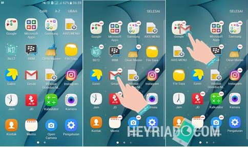 Cara Mengaktifkan Fingerprint Samsung A3 2017