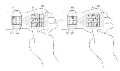Samsung patent smartwatch