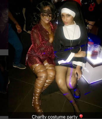 Why Did Juliet Ibrahim Dresses Up As Sexy Nun For Halloween