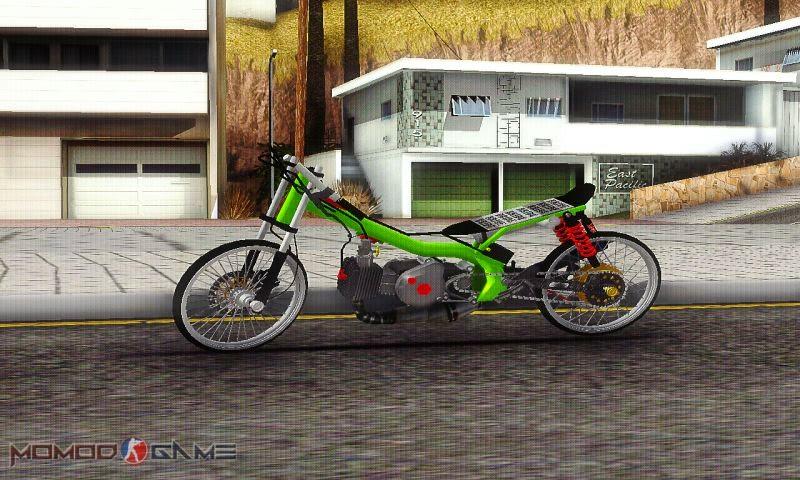 Mod Yamaha Fiz R Drag GTA SA