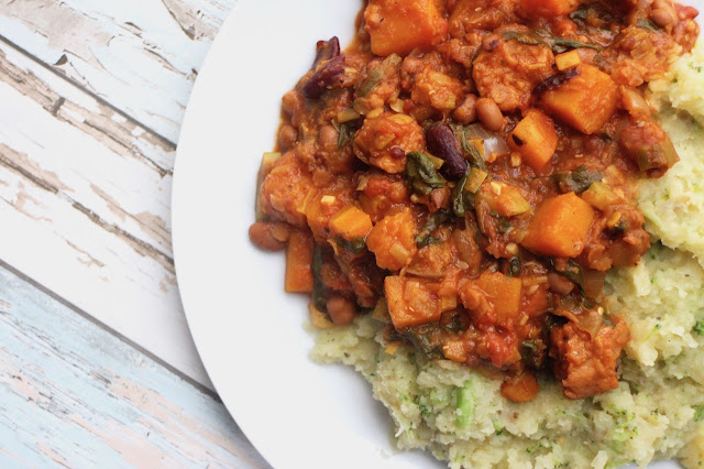 Vegan sausage stew recipe