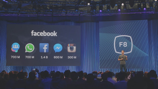 Facebook is marching forward with its F8, its annual developer conference.