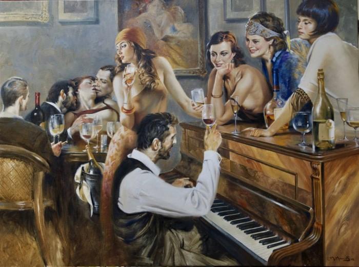 Египетский художник. Maher Morcos