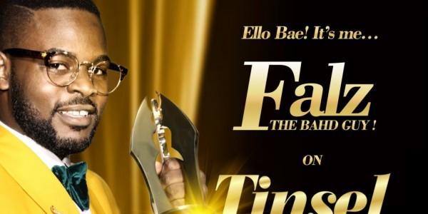 Nigerian Rapper, Falz the Bahd Guy, Joins Tinsel Cast