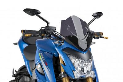 Suzuki GSX-S1000 ABS front headlight