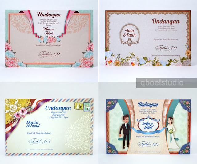 Undangan Pernikahan FADHIL cuma Rp.1500
