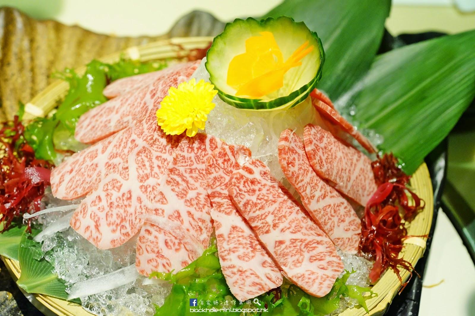 迷你.黑洞: 全新創作壽司與特色沙律:牛禪燒肉日本料理